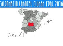 CONSULTA EL CALENDARIO LABORAL 2016 DE LA PROVINCIA DE CIUDAD REAL