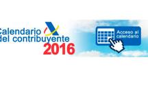 CONSULTA EL CALENDARIO DEL CONTRIBUYENTE 2016