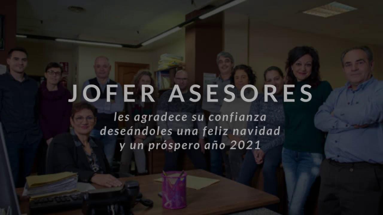 JOFER ASESORES LES FELICITA LA NAVIDAD